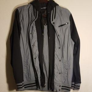 Lightweight, hooded jacket